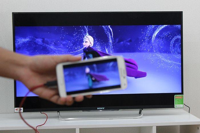 Hướng dẫn cách kết nối điện thoại Samsung với tivi